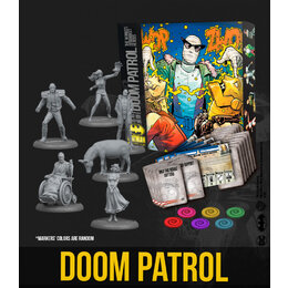 DOOM PATROL Bat Box