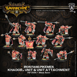 Iron Fang Pikemen / Black Dragon Unit
