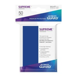 Ultimate Guard Supreme UX Sleeves Standard Size Blue