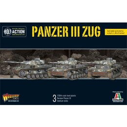 German Panzer III Zug