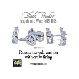 RU-33 Russian 12 pdr cannon 1809-1815