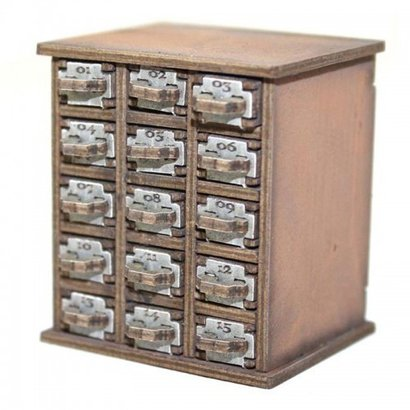 Safety Deposit Box (1 -15)