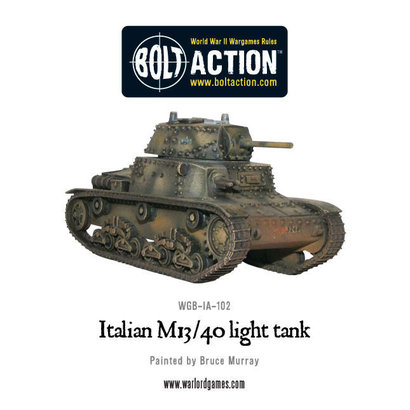 IT-102 Italian M13/40 Light Tank