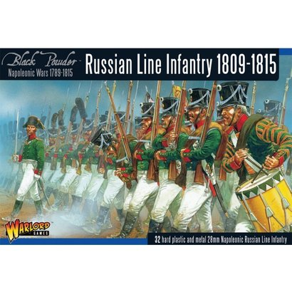 RU-01 Russian Line Infantry 1809-1815 Box Set
